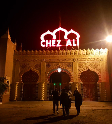 Chez Ali Dinner and spectacle night and Fantasia Show