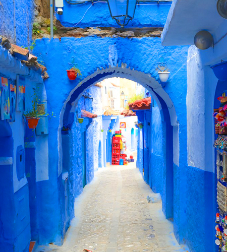 2 days tour from casablanca to chefchaouen blue city