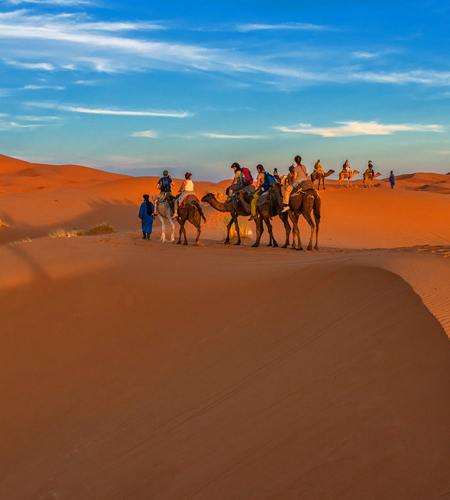 4 Days Tour From Fes to Marrakech via Desert Merzouga