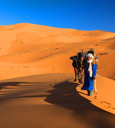 6 Days Tour From Fes to Marrakech via Merzouga desert
