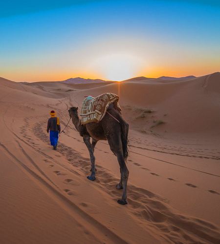 7 days tour From Fes to Merzouga sahara desert via fes