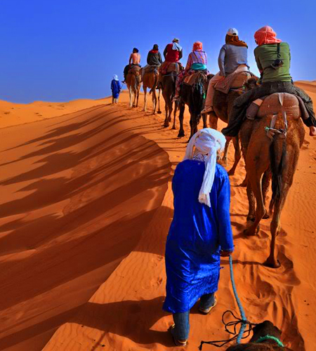 4 Days Tour From Marrakech To Sahara Desert and Erg Chebbi