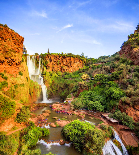 1 Day Trip to Ouzoud Waterfalls & Middle Atlas From Marrakech